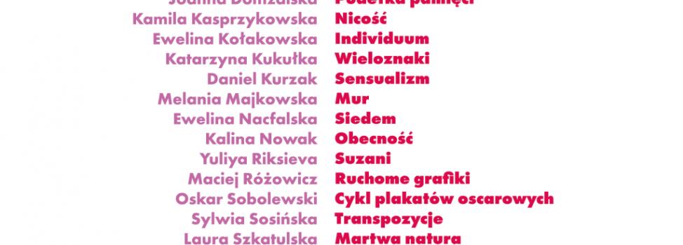 """Zapraszamy na wystawę Dyplomy 2018 – """"Jaskółki II"""""""
