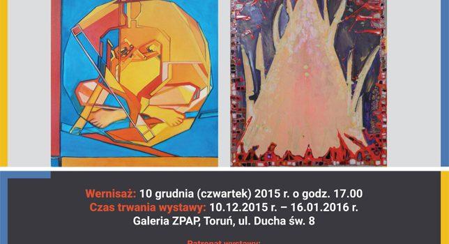 Zaproszenie na wystawę Edyty i Jakuba Matejkowskich