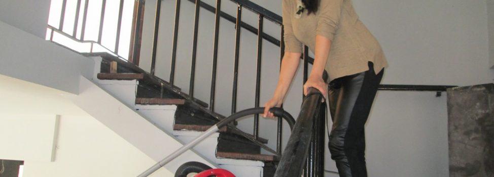 Fotorelacja z remontu naszych pomieszczeń po byłym BWA