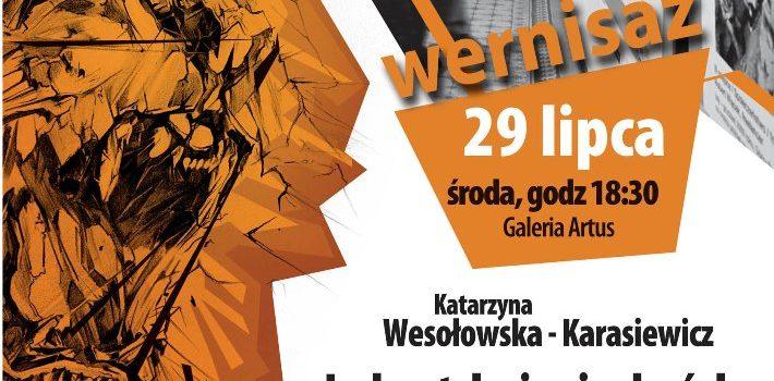 Wystawa Katarzyny Wesołowskiej-Karasiewicz w Dworze Artusa