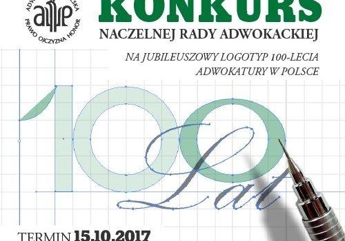 Konkurs na logotyp 100-lecia Adwokatury w Polsce