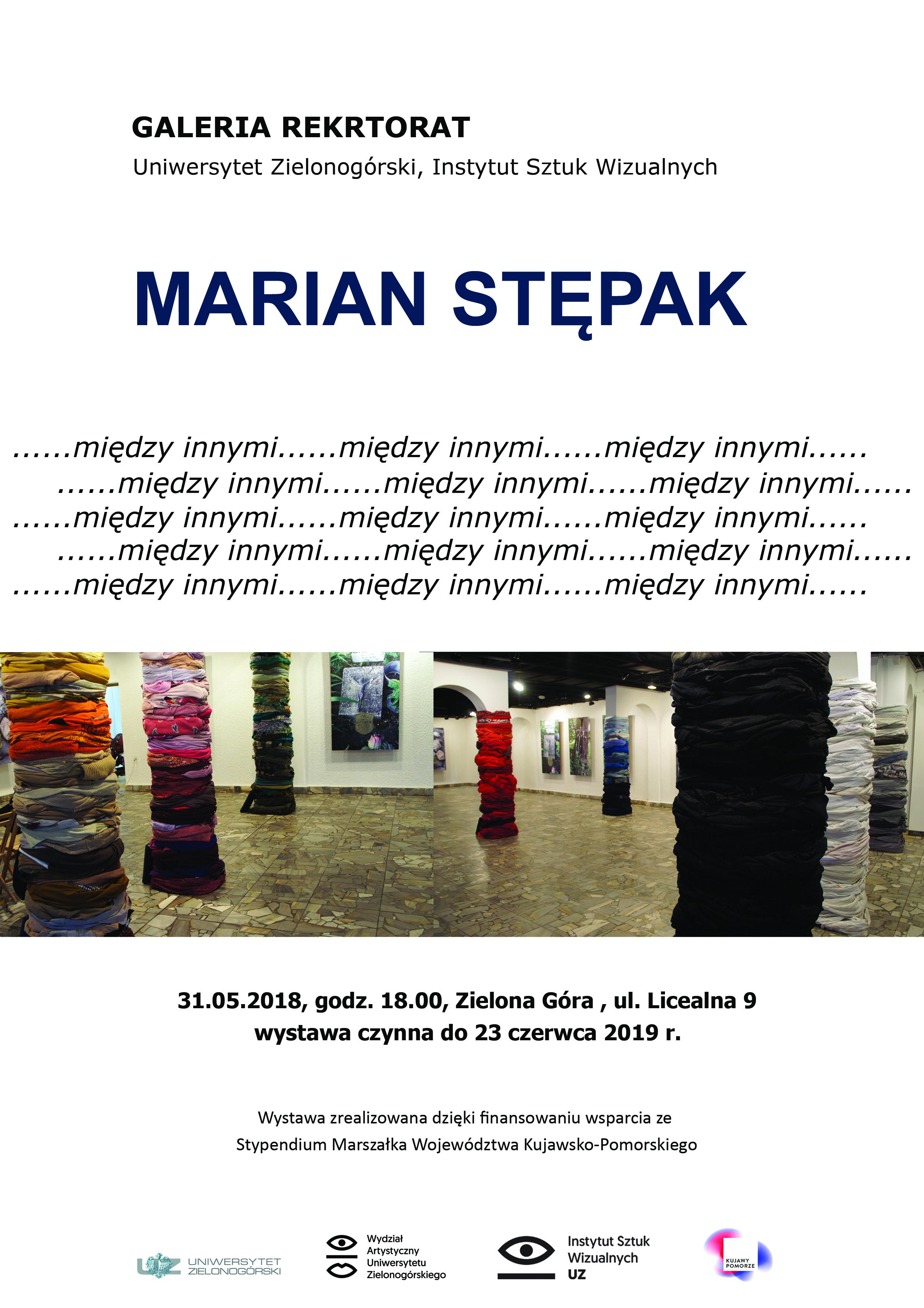 Marian Stępak, Galeria Rektorat, Zielona Góra