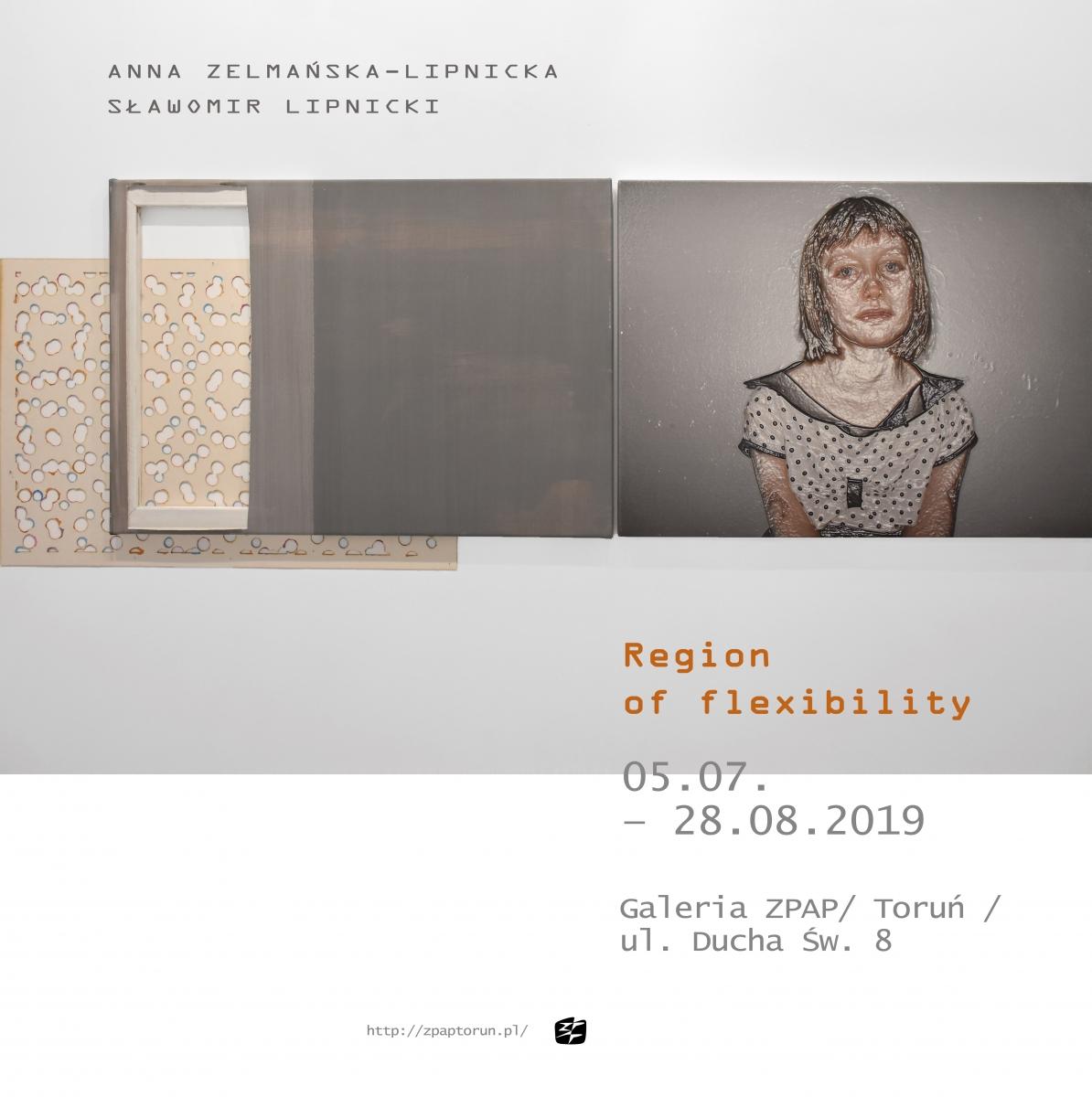 """Zapowiedź i zaproszenie na wystawę """"Region of flexibility"""""""