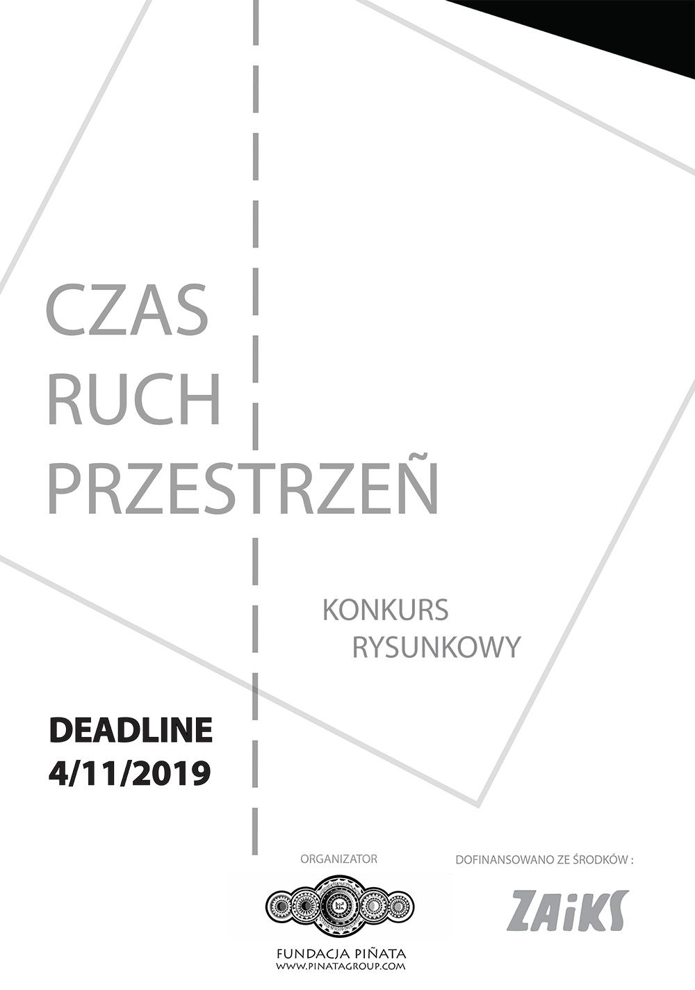 Konkurs rysunkowy CZAS – RUCH – PRZESTRZEŃ