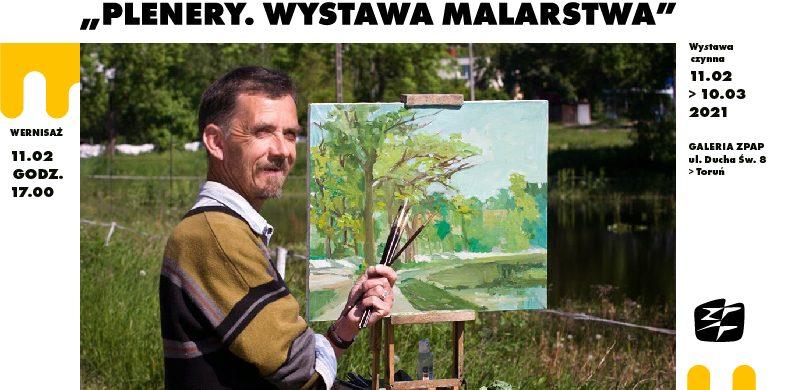 """Tadeusz Gapiński, """"Plenery. Wystawa malarstwa"""""""