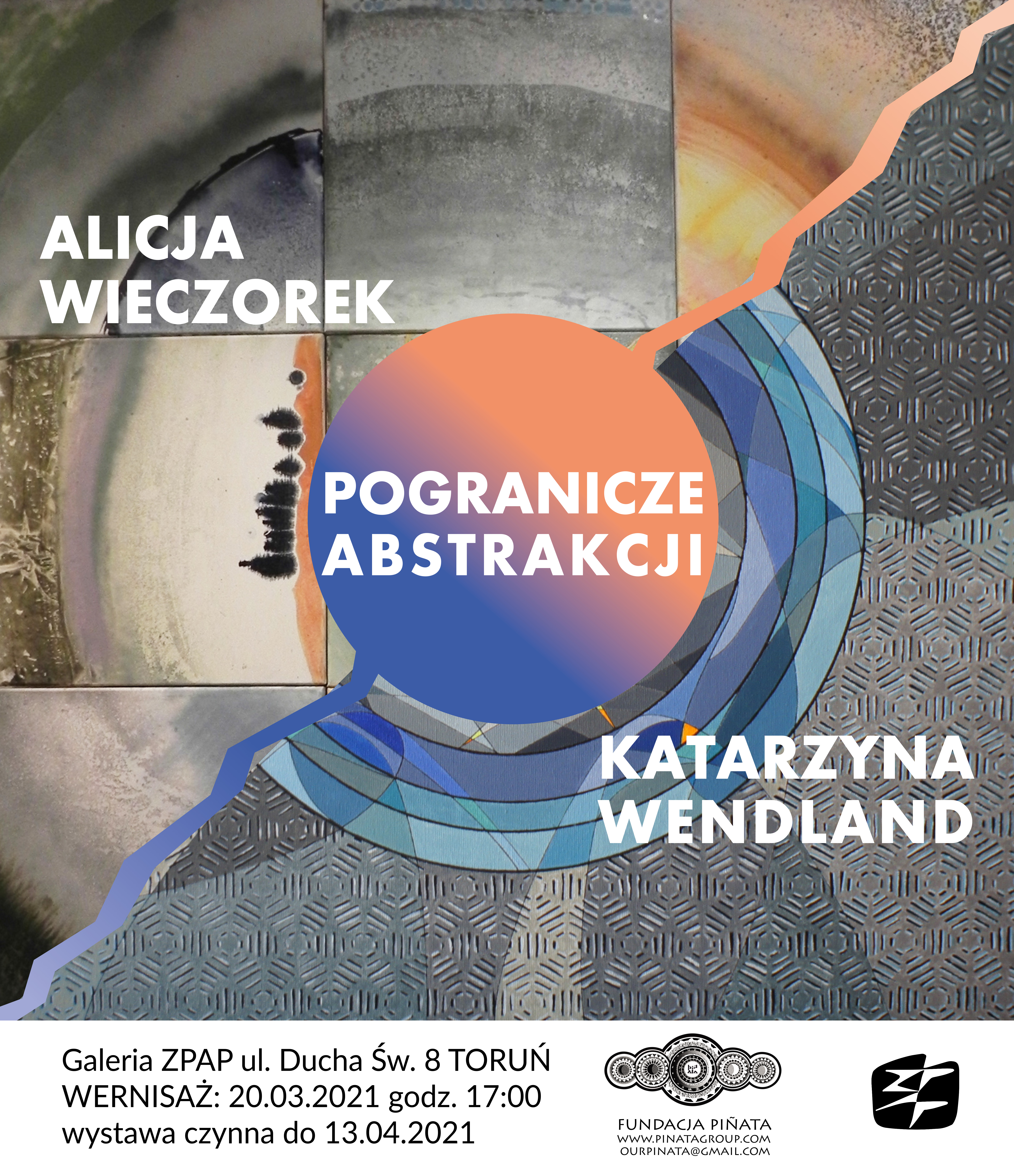 Pogranicze Abstrakcji – Alicja Wieczorek i Katarzyna Wendland