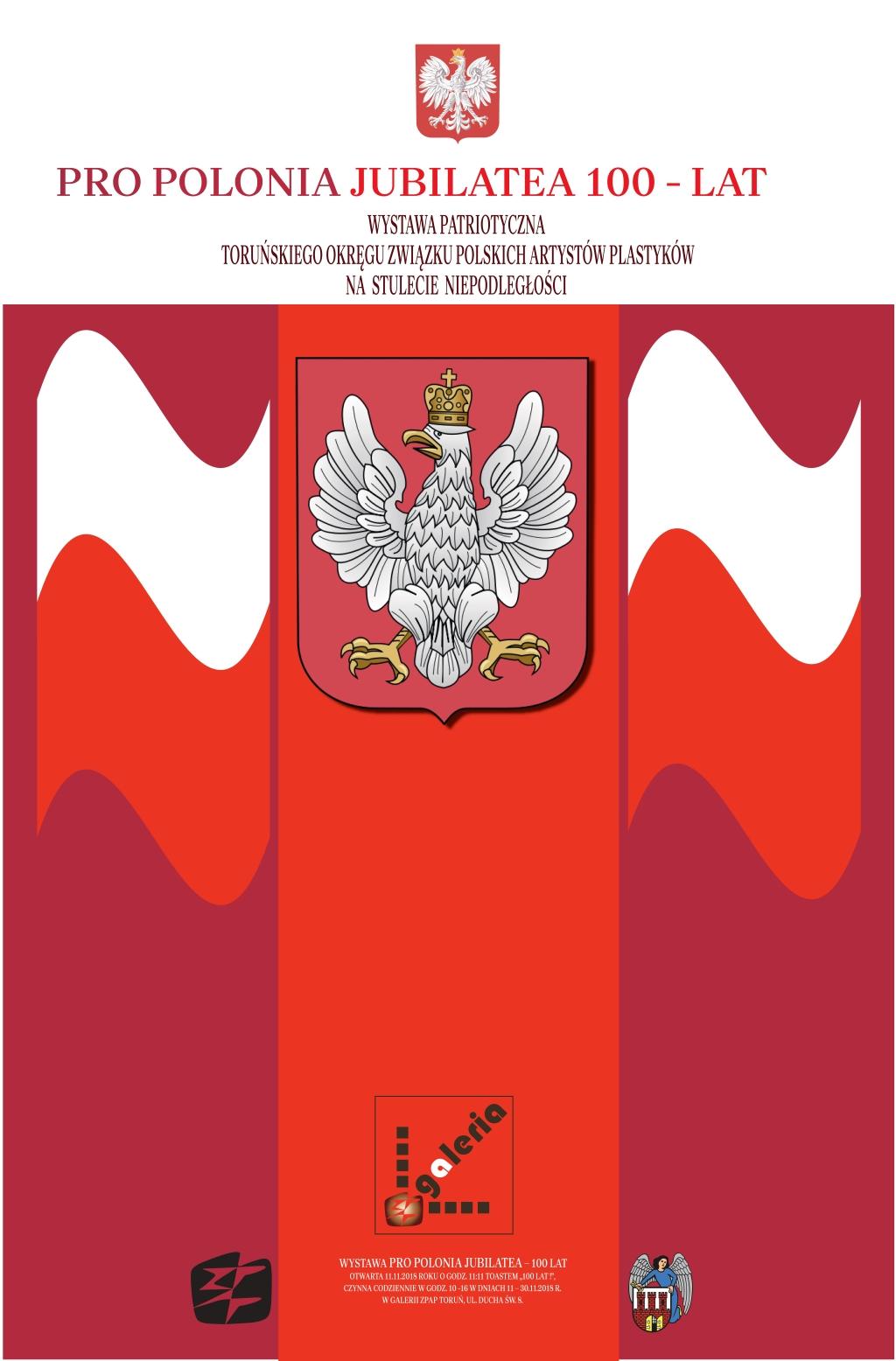 Zapraszamy na wystawę 'Pro Polonia Jubilatea – 100 lat'