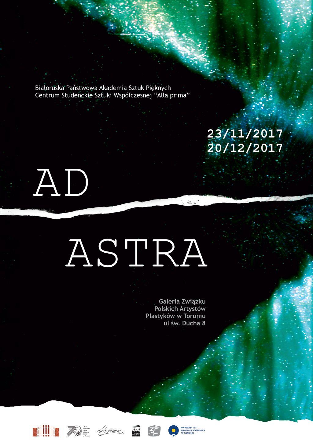 """Zapraszamy na wystawę """"Ad Astra"""""""