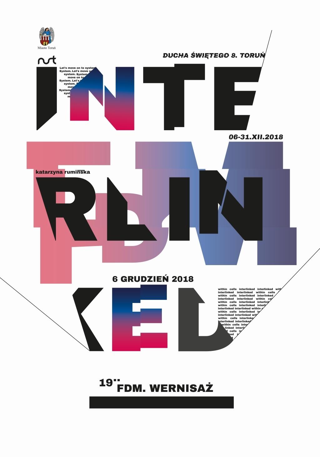 Zapraszamy na wystawę 'FDM Interlinked' – Katarzyna Rumińska