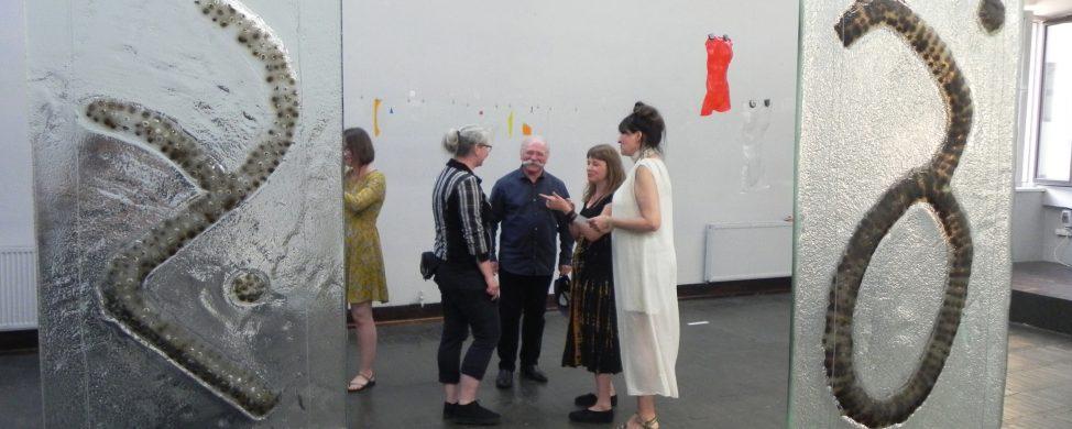 Wystawa szkła artystycznego GLASS PROJECT w ramach Święta Ulicy.