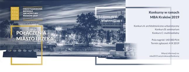 Konkurs Międzynarodowe Biennale Architektury Kraków 2019