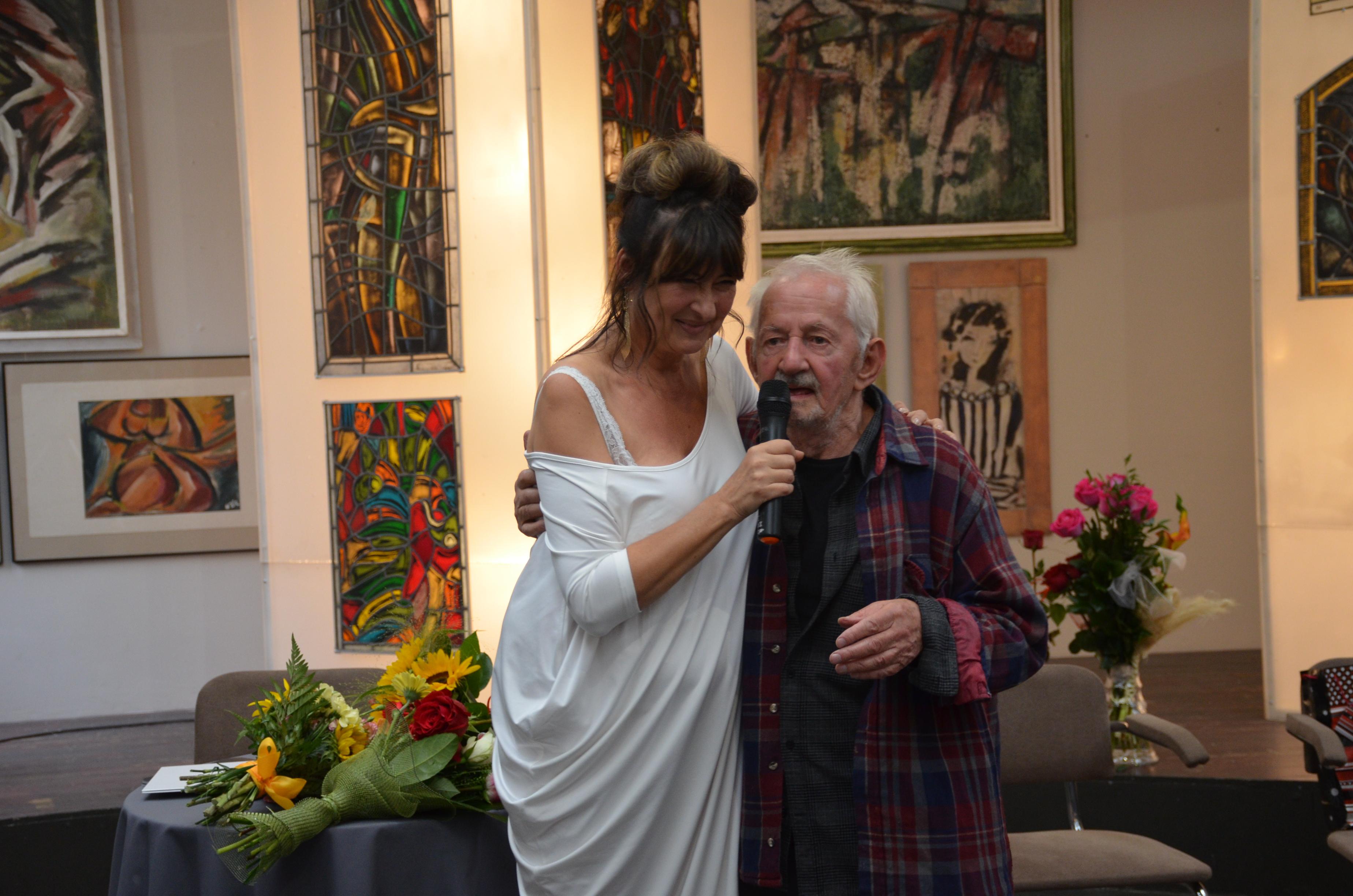Wystawa Malarstwa i witrażu Władysława Kozioła w roku Jubileuszu 90-tych Urodzin Artysty.