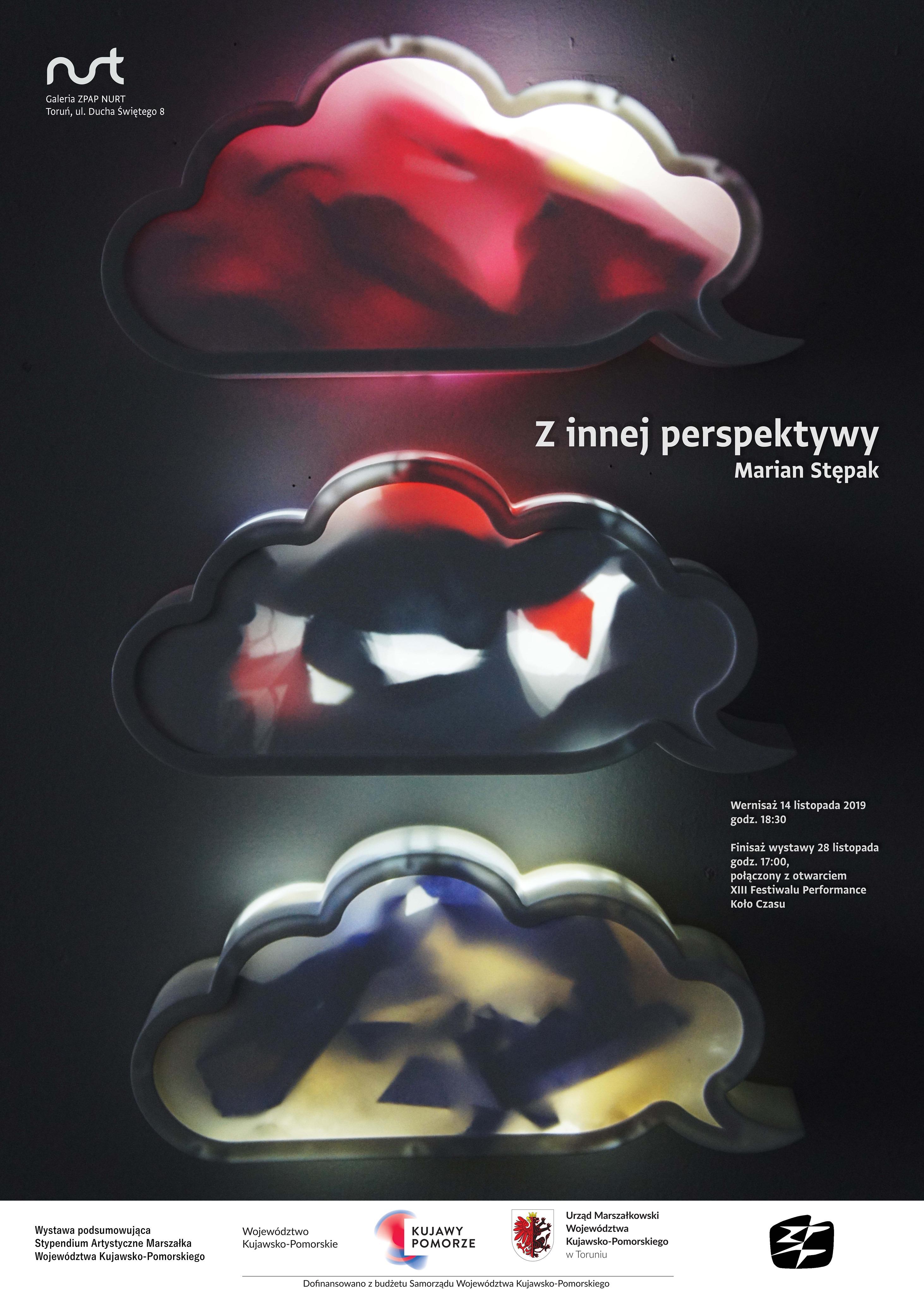 """Zapowiedź wystawy – Marian Stępak – """"Z innej perspektywy"""""""
